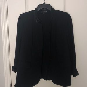 Black Lane Bryant blazer